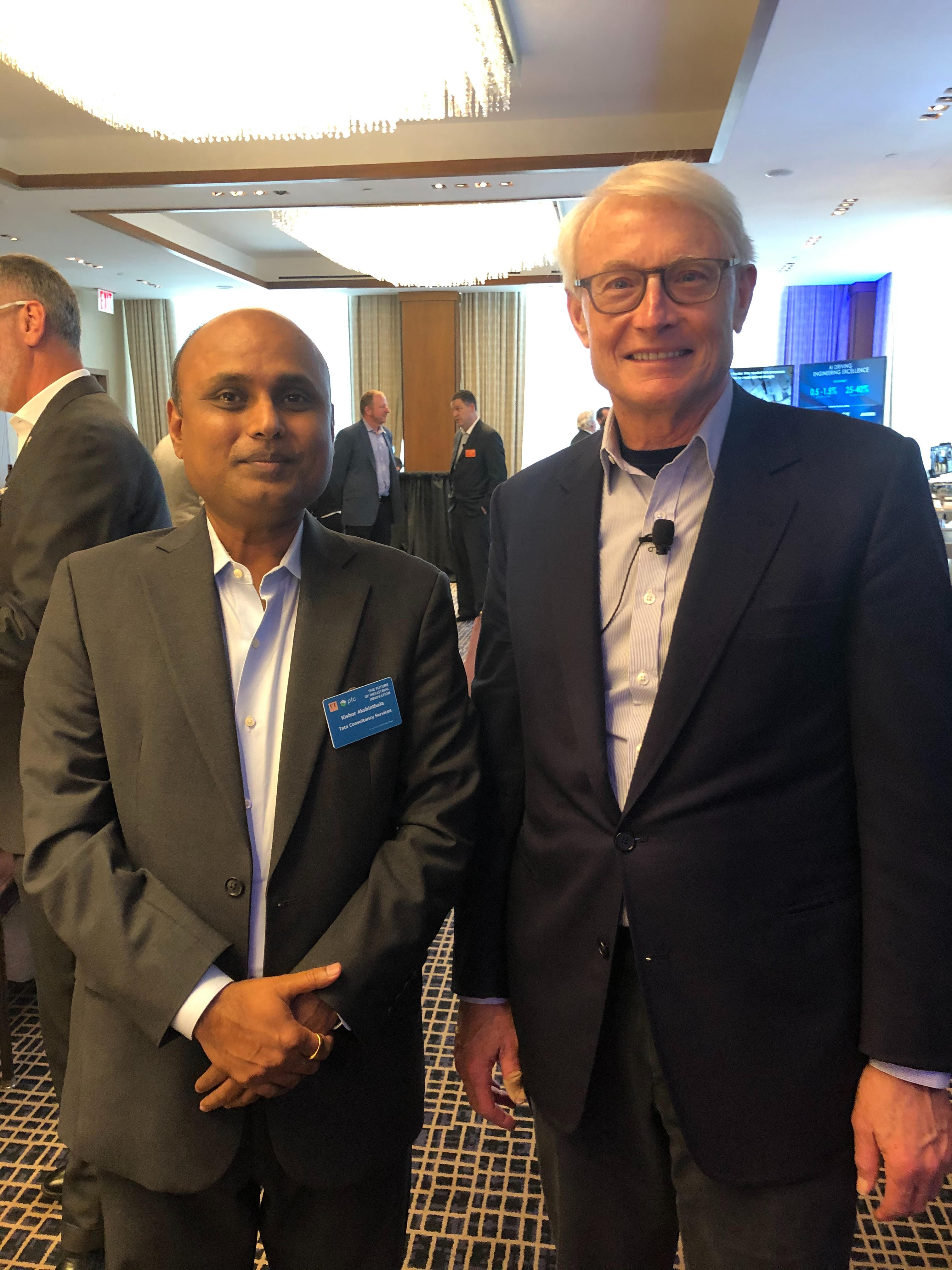 With Prof. Michael Porter